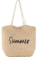 Háčkovaná plážová taška z papírových vláken