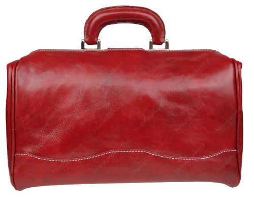 Elegantní červená doktorská aktovka
