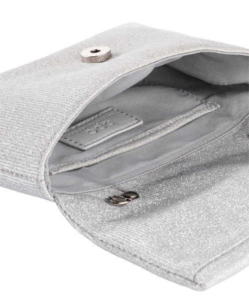 Malá stříbrná dámská kabelka Bonprix