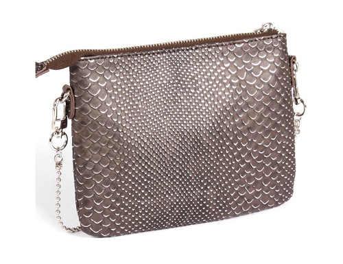 Malá dámská kabelka motiv hadi kůže