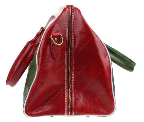 Dámská cestovní taška z italské kůže