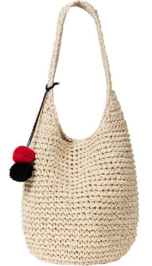 Háčkované letní plážová taška