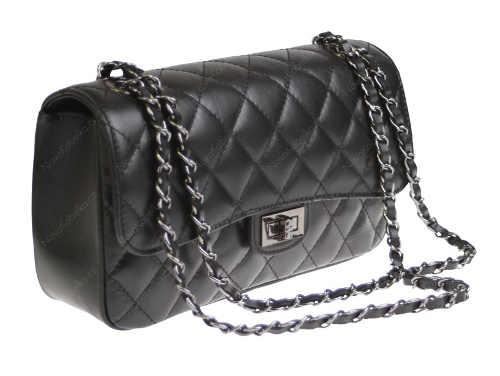 Krásná černá kabelka k nošení přes rameno Eliana Nera Nuovo