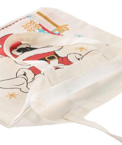Látková taška s vánočním motivem