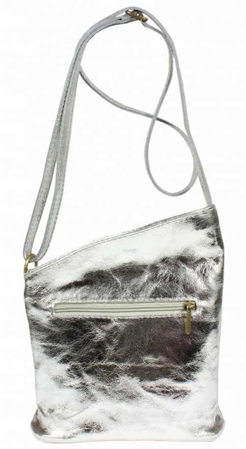 Malá stříbrná kabelka Angola Argento