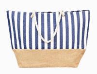 Plážová taška pruhovaný námořnický vzor