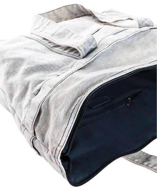 Praktická džínová kabelka na nákupy
