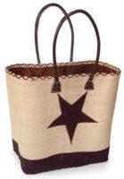 Velká béžová plážová taška Estrella