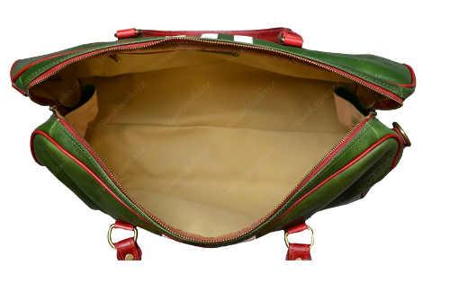 Velká dámská kožená cestovní taška