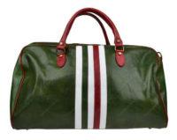 Zelená cestovní taška Galba Verde Tricolore