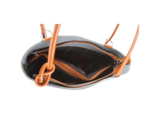 Moderní kabelka na nošení jako batoh i přes rameno
