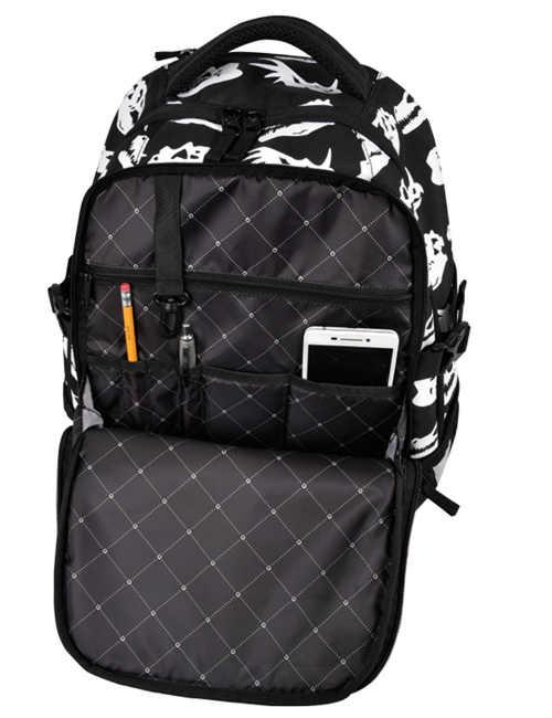 Praktický studentský batoh v moderním designu
