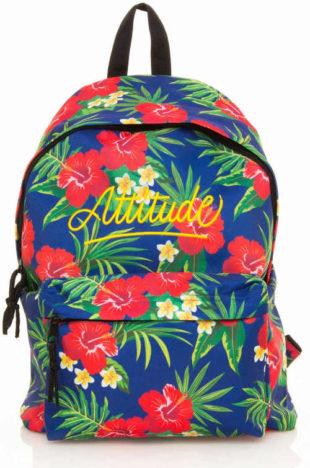 Dámský pestrobarevný květovaný batoh MTNG