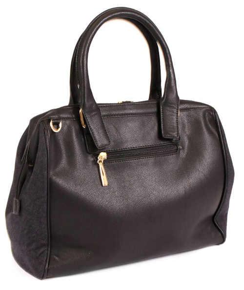Jednoduchá černá dámská kabelka do ruky
