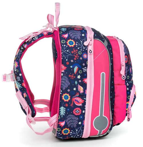 Školní batoh pro menší holčičku
