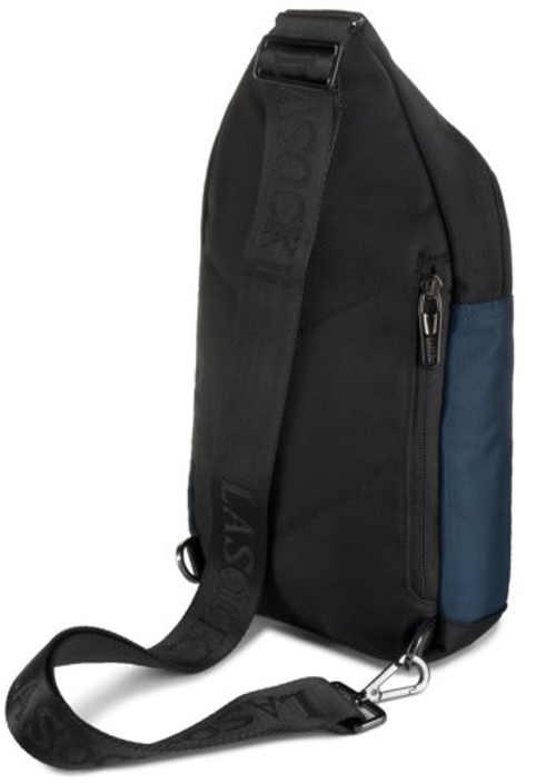 Sportovní modro černá pánská taška přes rameno