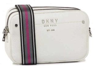 Bílá malá crossbody kabelka DKNY
