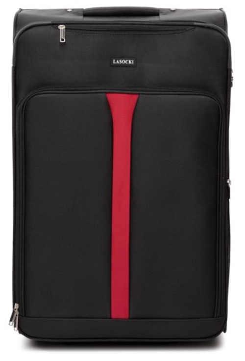 Cestovní kufr na kolečkách s kombinačním zámkem