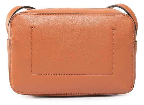 Značková kožená dámská kabelka přes rameno