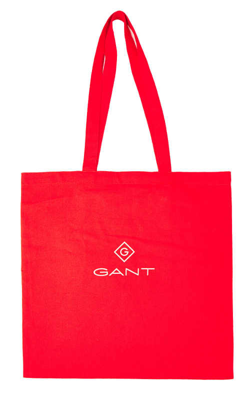 Červená nákupní taška GANT SHOPPER