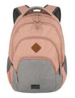 Růžový dívčí městský batoh na notebook Travelite Basics Backpack