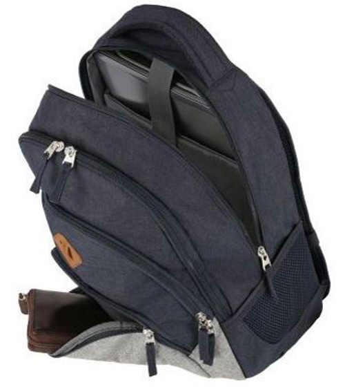 Tmavě modrý školní batoh na notebook