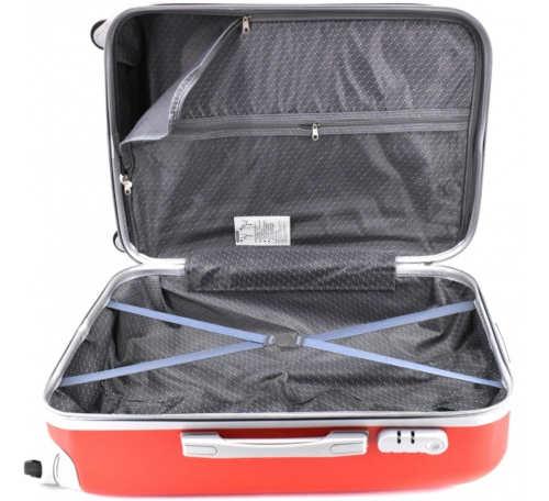 Barevné cestovní kufry střední velikost