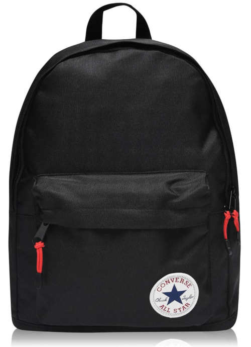 Černý městský batoh Converse Chuck Taylor