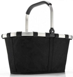 Černý skládací nákupní košík Reisenthel Carrybag