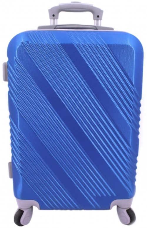 Modrý palubní skořepinový kufr Arteddy