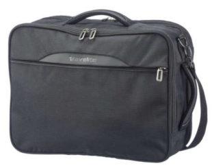 Pánská cestovní taška na notebook Travelite CrossLITE Combi Bag Black